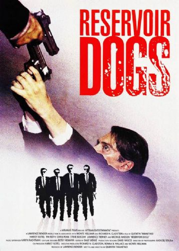 1990's Movie - RESERVOIR DOGS - POSTER STYLE 2 canvas print - self adhesive poster - photo print